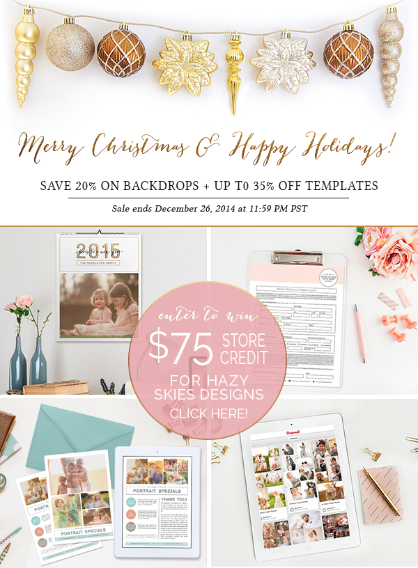 Photoshop Templates for Photographers, Cards Books Seniors Birth Announcements + More! www.hazyskiesdesigns.com