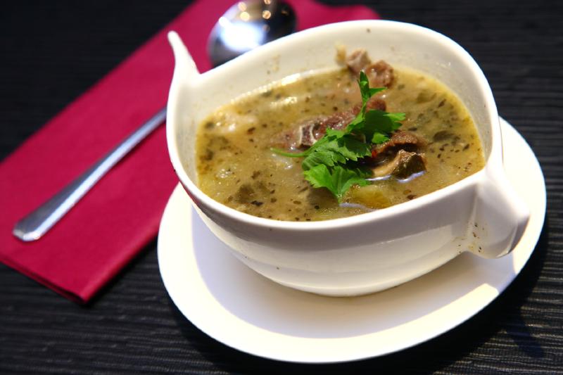 My Charcoal Bar Lamb-Soup