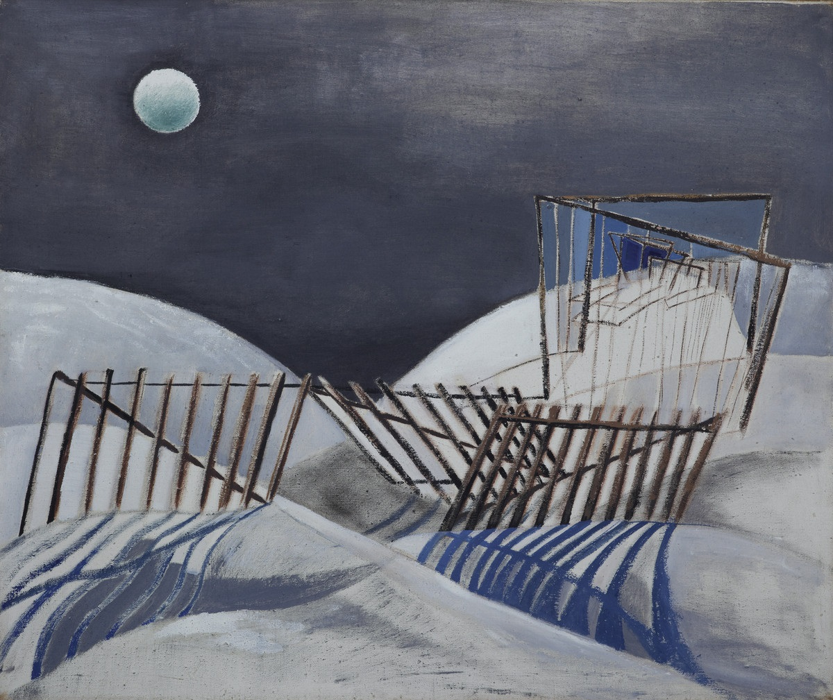 Steinforth, Peter, Schneeverwehungen