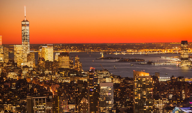 New York City Skyline Winter Sunset | Flickr - Photo Sharing!
