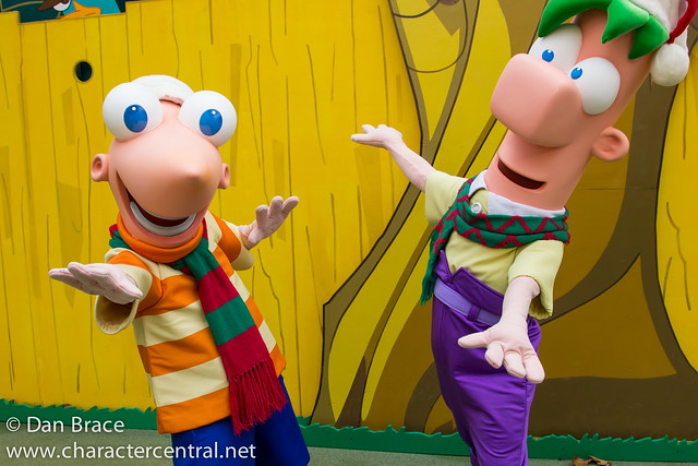 Meeting Phineas and Ferb