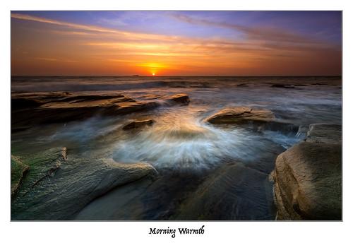 ocean colour water sunshine sunrise canon point coast rocks 1740mm 6d cartwright cloudsstormssunsetssunrises