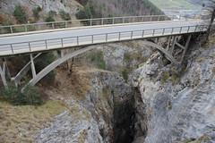 New bridge across the Feschelbachschlucht