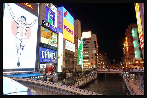 日本大阪-心齋橋夜色.01