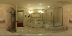Bath room in 360 degrees of room no 335