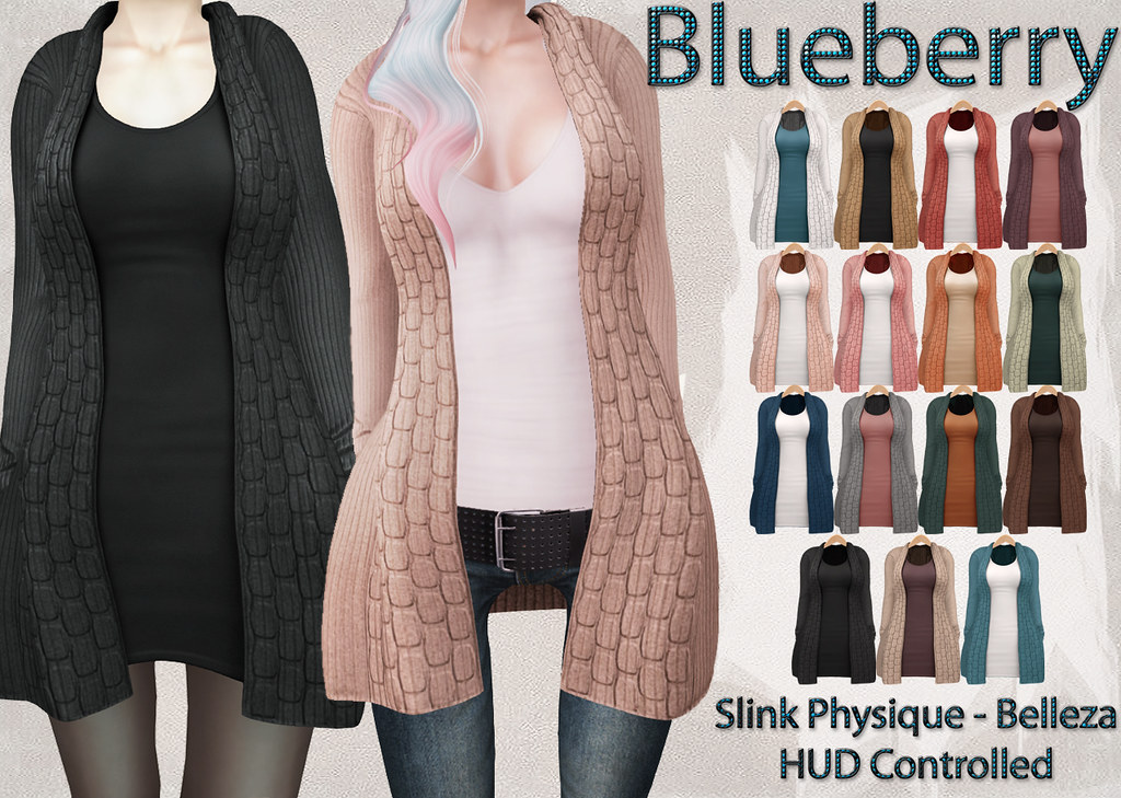 Blueberry Babi Cardigans Optional Dresses