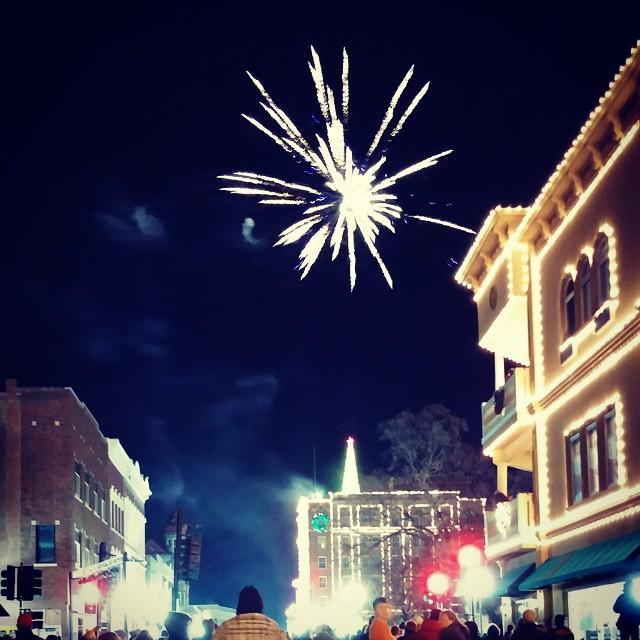 #fireworks downtown Sedalia MO USA