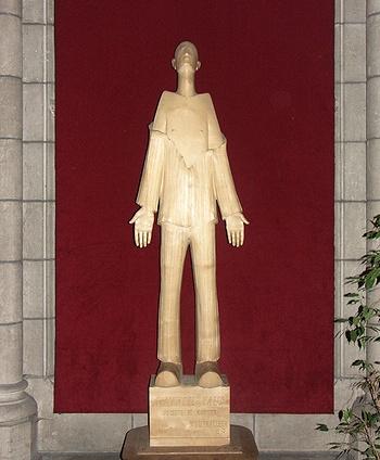 Statue Marcel Callo
