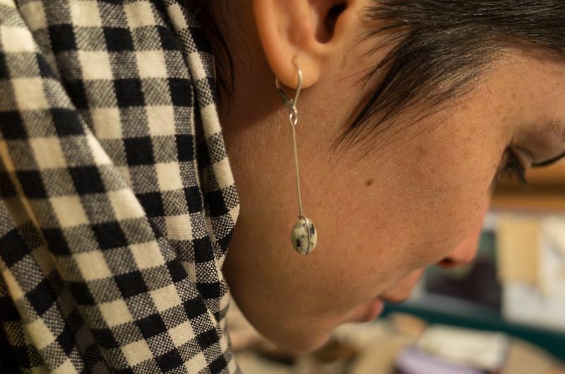 Maria's earring