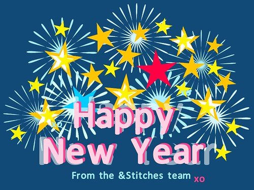 Happy New Year from &Stitches!