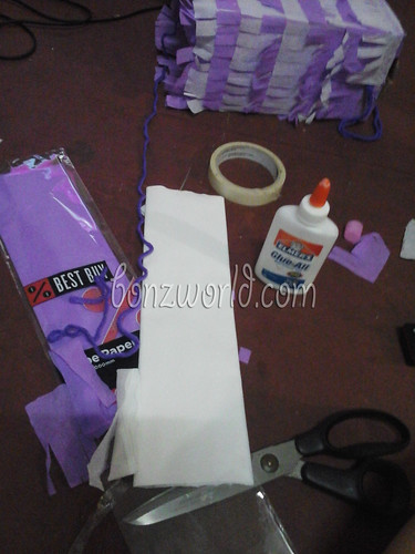 DIY sofia the first pinata-3