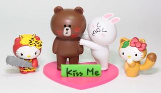 愛在心裡口難開嗎? 讓「LINE 熊大兔兔情人組」,來為您表達心意!