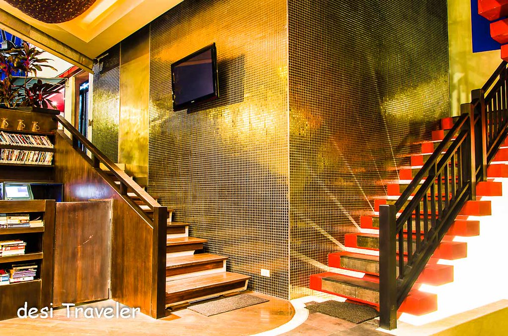 The coffee Shop staircase Kirikayan Boutique Hotel