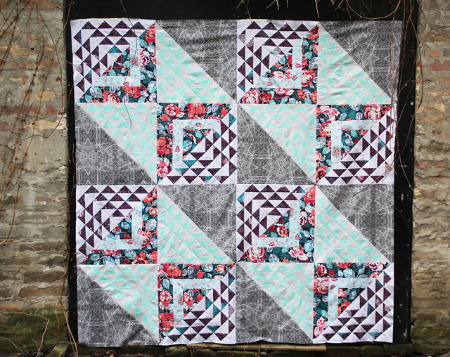 Birchen quilt top