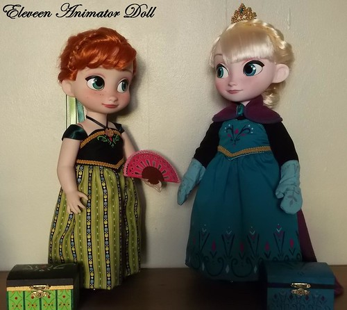 [Créations] Eleveen Animator Doll : Confections *News : Anna tenue Hiver et Kiki Animator* 16015953926_8b8c50d071