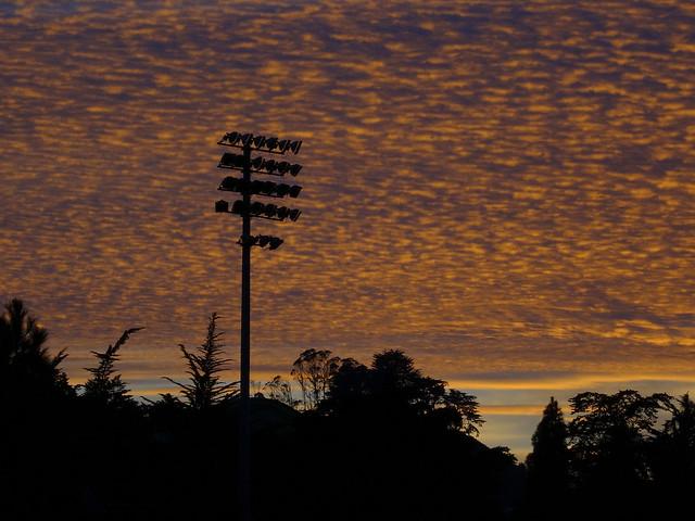 Kezar Stadium at Sunset; December 27, 2014; The Haight, San Francisco