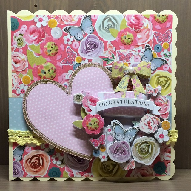 Bellissima Congratulations Card by StickerKitten