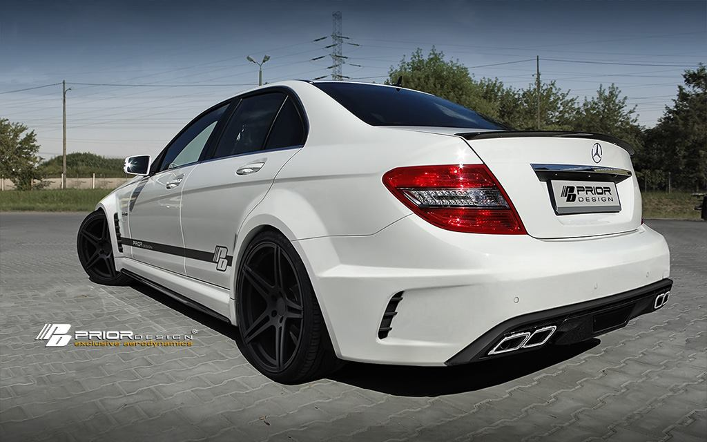 Mercedes W204 C63 Black Series Sedan Widebody Kit C Class