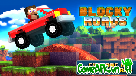 Blocky Roads v1.2.3 hack full coins cho Android