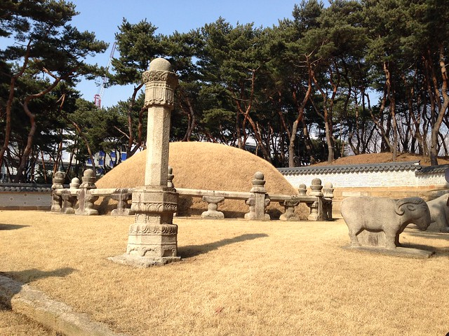 Queen Jeonghyeon's tomb