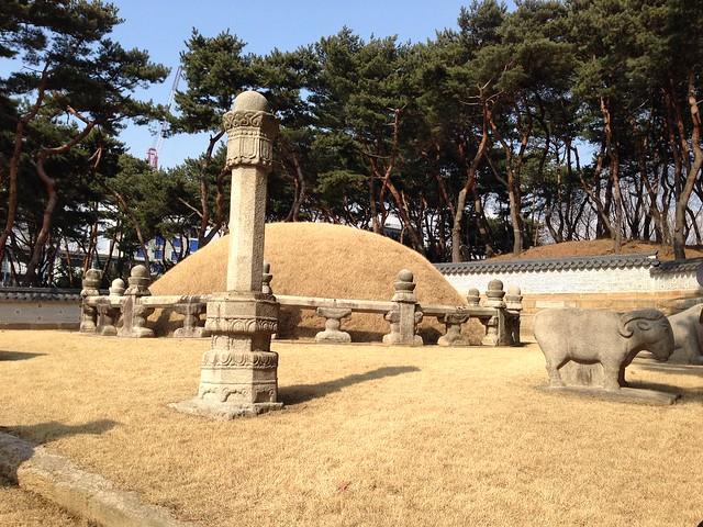 Queen Jeonghyeon's tomb