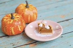 Pumpkin Pie Earrings Handmade