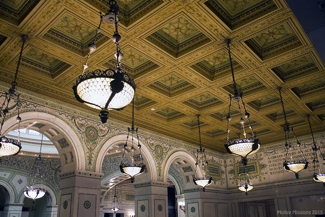 lamps and ceiling