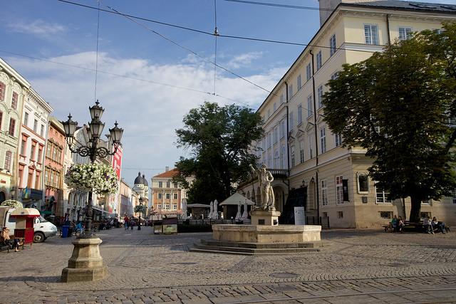 Rynok square. Lviv, Ukraine