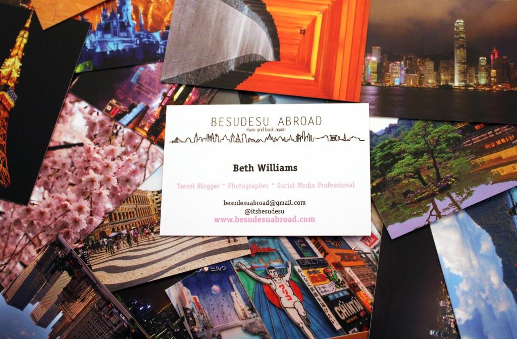 Memorable Travel Blog Business Cards – Travels in Translation | A ...