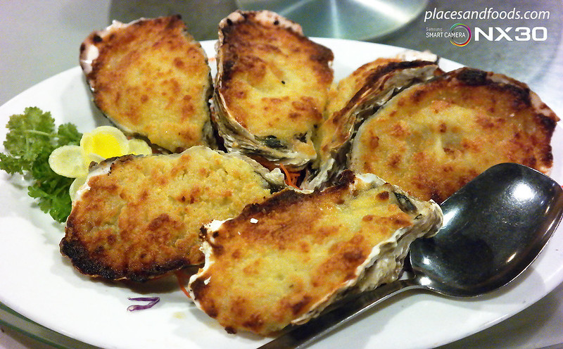 south sea seafood baked oyster with cheese