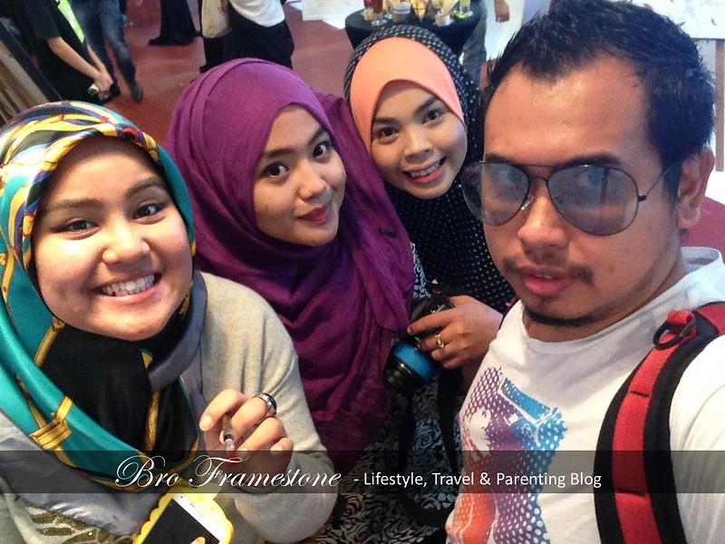 Gadis Blogger Malaysia Sizzling Suzai Iena Eliena Syafiqah Hashim Nando's Art Initiative 2015