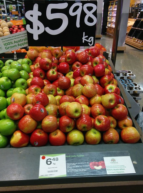 Apples - how much?
