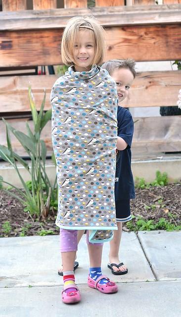 charley harper knit receiving blanket