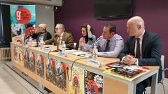9º Salón del Cómic y Manga de Castilla y León. Rueda de Prensa Presentación.