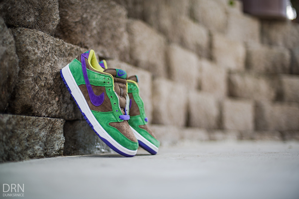 "2001 Veneer Dunk Low Pro B ""Ugly Ducking"" Pack"