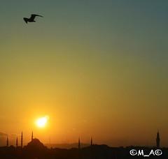 Sunrise from Istanbul/Turkey