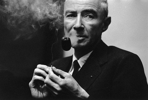 BURRI_American-physicist-Robert-OPPENHEIMER.1960