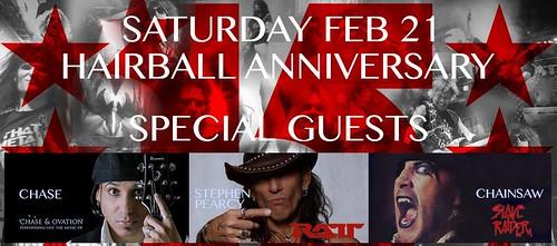 02/21/15 Hairball 15th Anniversary Concert @ Myth, Maplewood, MN