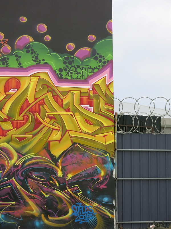 Art by Sofles, 163 St Asaph Street