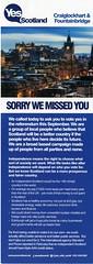 Yes Craiglockhart and Fountainbridge leaflet.  2014
