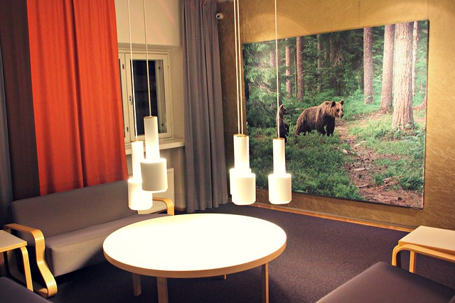 Hotel Helkan sisustus: suomalainen design