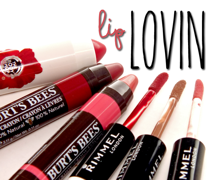 lip-lovin-body-shop-burts-bees-rimmel copy