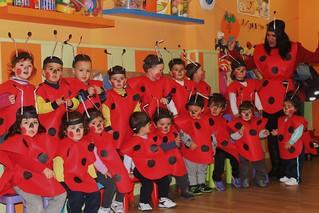 La Escuela Infantil Donald se viste de mariquitas para el Carnaval