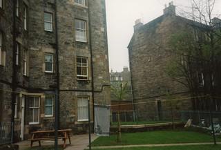back of Wardlaw Terrace, Feb 1995