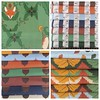 Received my swatches from #spoonflower today. All of these are now available via spoonflower- http://ift.tt/1AP5jo9 #fabricdesign #artistsofinstagram #fox
