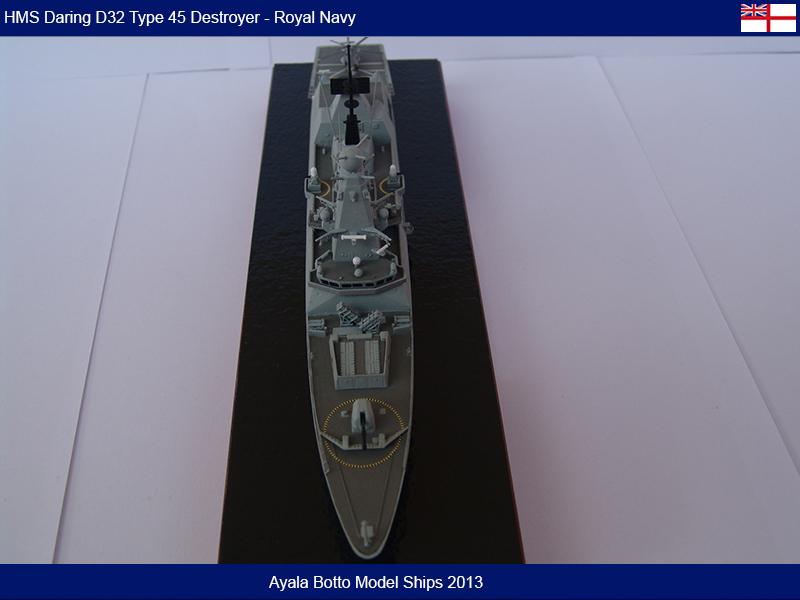 HMS Daring D32 Type 45 Destroyer Royal Navy - Cyber Hobby 1/700 16674219202_487de0f706_c