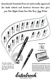 Esterbrook Fountain Pens