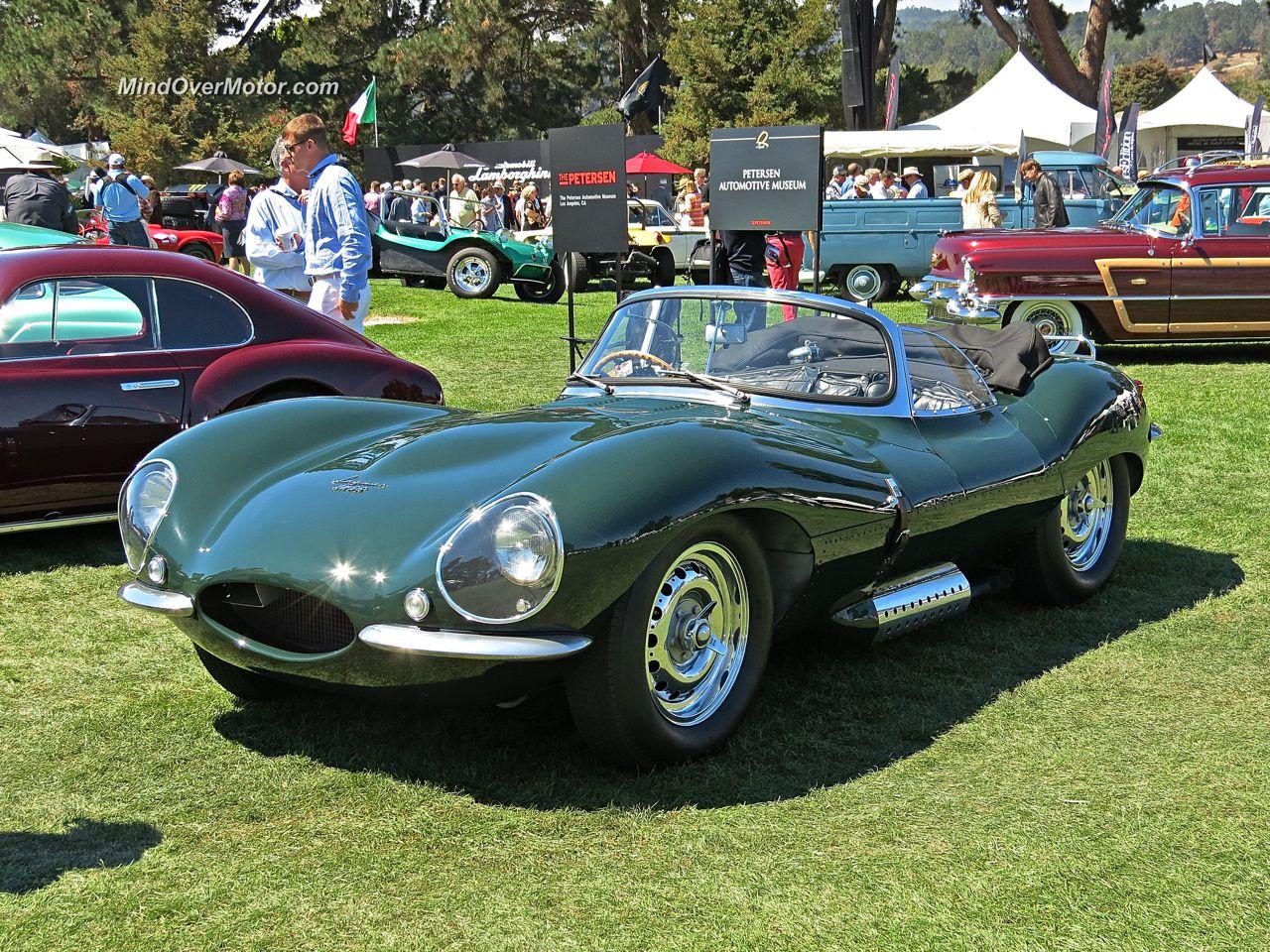 Steve McQueen's Jaguar XK-SS at The Quail
