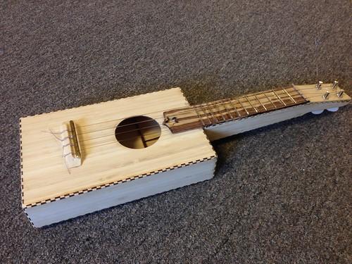 Laser-Cut Bamboo Ukulele