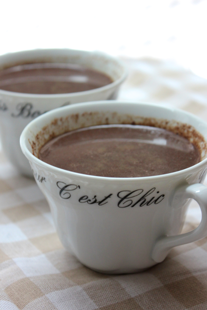 Heavenly Hot Chocolate- Refreshed